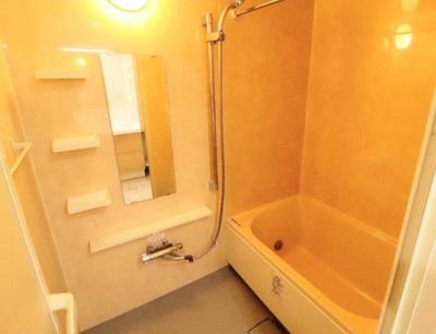 国分寺パークホームズのお風呂です。