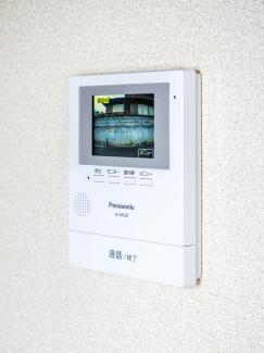 カラーモニター付インターホン