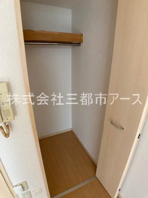 【寝室】バルコ