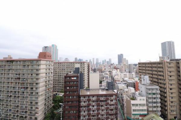 【物件からの展望】梅田方面の眺望です。