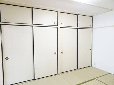 和室には、大きな押入れがあります♪