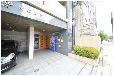 クレアートアドバンス大阪城南 エントランス
