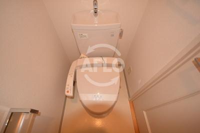 クレアートアドバンス大阪城南 トイレ