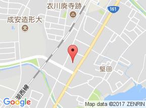 【地図】衣川ポケット