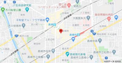 【地図】レスポアール紺屋