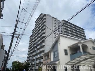 【コスモシティ尼崎】地上15階建 総戸数175戸 ご紹介のお部屋は1階部分です♪
