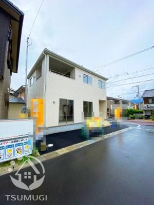 【前面道路含む現地写真】亀岡市篠町篠第3 新築戸建
