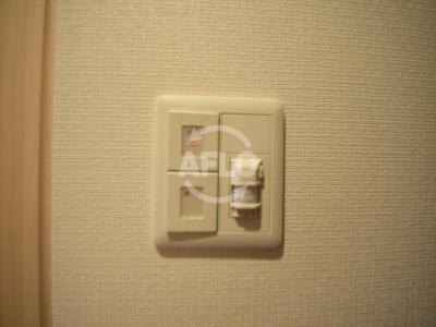 クリスタルグランツ難波II 玄関センサーライト