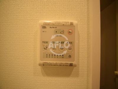 クリスタルグランツ難波II 浴室リモコン
