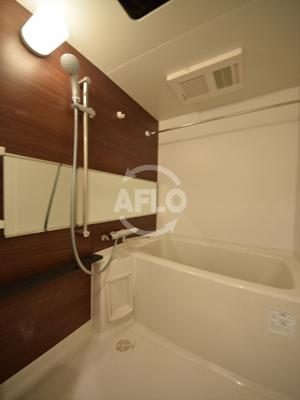 クリスタルグランツ難波II 浴室※階層により壁の色違う場合あり
