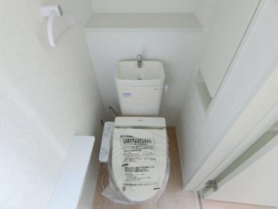 【トイレ】牛久市田宮第6 新築戸建