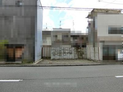 【外観】中京区西ノ京笠殿町 建築条件無し 売土地