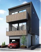 新築一戸建 川崎市中原区上丸子天神町の画像