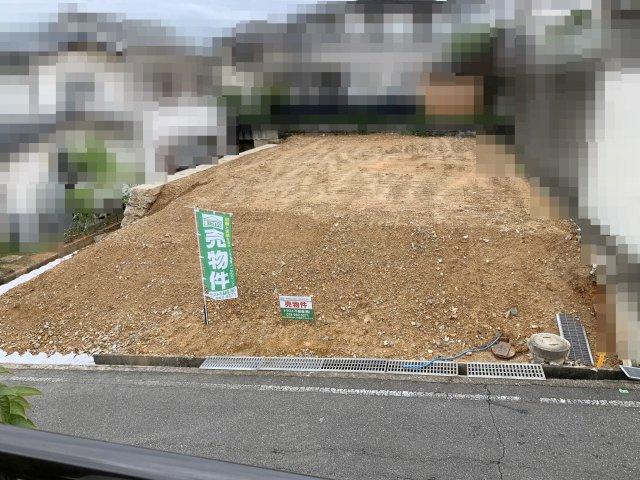 【前面道路含む現地写真】大久保町高丘土地