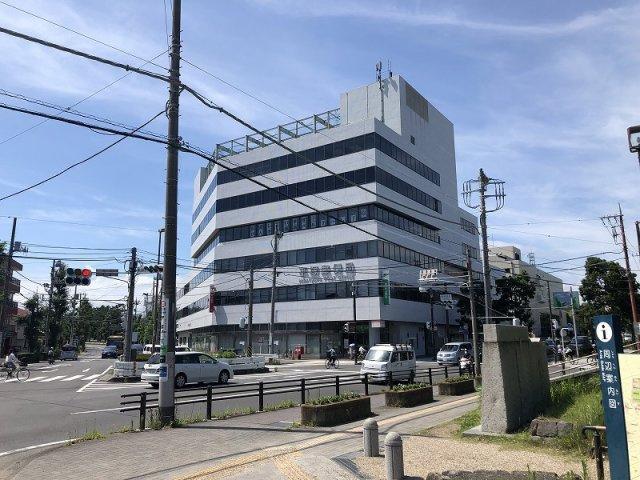 平塚郵便局まで徒歩2分の距離です。
