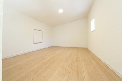 寝室です:建物完成しました♪毎週末オープンハウス開催♪八潮新築ナビで検索♪
