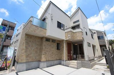 外観です:建物完成しました♪毎週末オープンハウス開催♪八潮新築ナビで検索♪