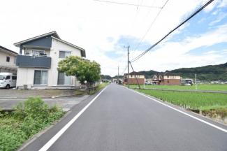 【前面道路含む現地写真】霧島市国分新町