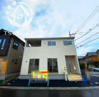 安心安全のオール電化住宅!令和3年9月完成予定 現在建築中 ※令和3年7月上旬撮影