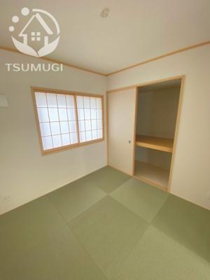 リビング横に設けられた和室 ※同社施工例