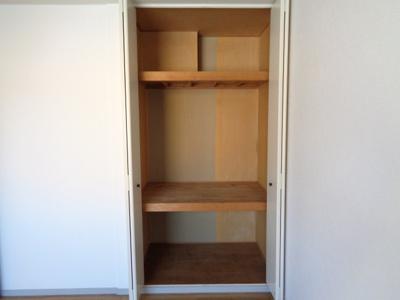 洋室7.5帖収納スペース