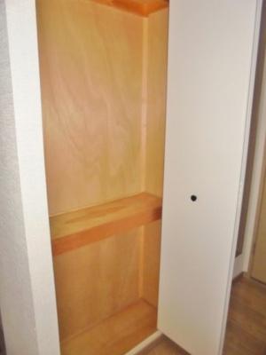洗面所の収納スペース ※写真はイメージです