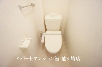 【トイレ】クレスト藤ヶ丘ⅢA棟