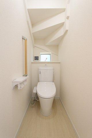 トイレも気になるポイント:建物完成しました♪毎週末オープンハウス開催♪八潮新築ナビで検索♪