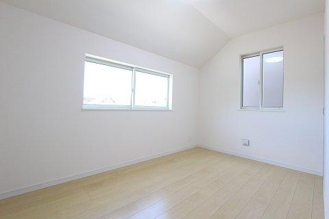 広々とした洋室です:建物完成しました♪毎週末オープンハウス開催♪八潮新築ナビで検索♪