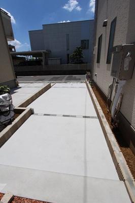駐車場があります:建物完成しました♪毎週末オープンハウス開催♪八潮新築ナビで検索♪