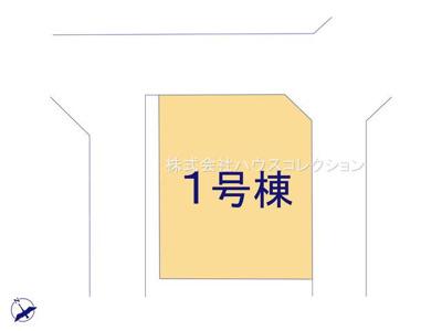 【区画図】阿見町うずら野 新築戸建