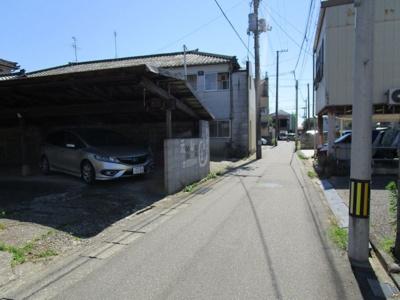 【前面道路含む現地写真】内野町売地