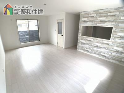 【居間・リビング】神戸市垂水区星陵台 新築戸建