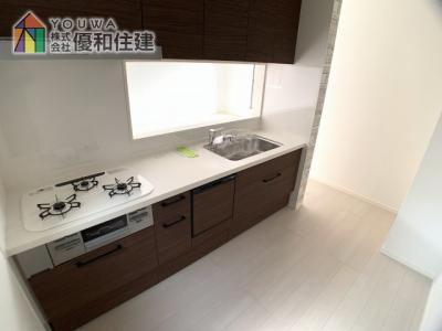 【キッチン】神戸市垂水区星陵台 新築戸建