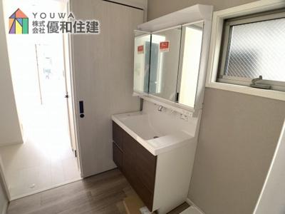 【独立洗面台】神戸市垂水区星陵台 新築戸建