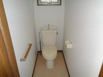 【トイレ】リバーサイド南平