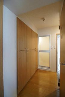 収納スペース豊富です ※302号室(同間取り)の写真です