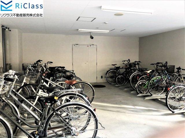 【駐輪場】エステムプラザ神戸三宮ルクシア