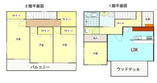 4SLDK。全居室フローリング。全居室収納付。