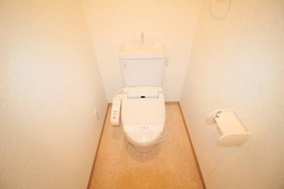 【トイレ】ソレイユ曽根東町