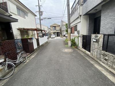 【前面道路含む現地写真】枚方市東船橋2丁目 中古戸建て