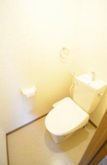 【トイレ】山梨県甲府市和田町一棟マンション