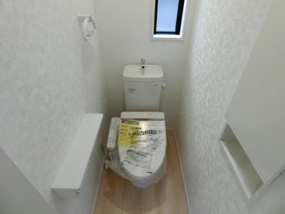 【トイレ】土浦市中荒川沖町第2 新築戸建 1号棟