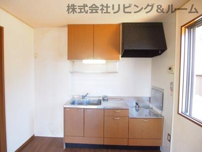 【キッチン】コンフォール・オリエ C棟