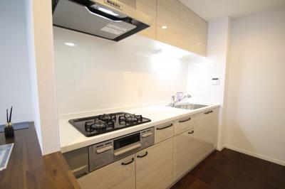【キッチン】シティホームズ海老名 3階 3LDK〈リフォーム済みマンション〉