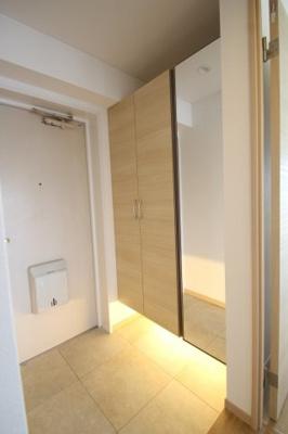 【玄関】サングレイスかしわ台壱番館 最上階5階 3LDK〈リフォーム済みマンション〉