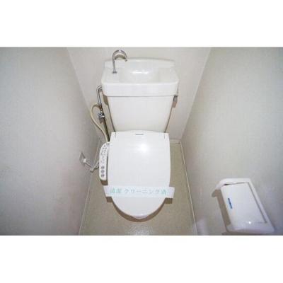 【トイレ】パークハイツ根岸
