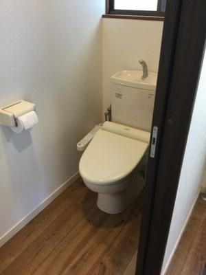 【トイレ】笛吹市石和町市部中古住宅