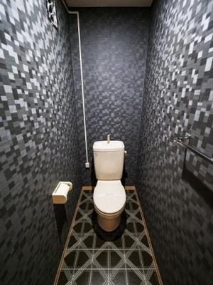 トイレはクールなイメージ