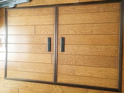 床下収納付キッチンは広々としており機能的